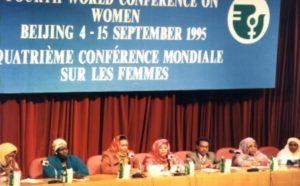 Desigualtats de gènere. Conferència Internacional de Beijing, 1995.