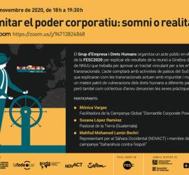 Acte Empresa i Drets humans a la FESC 2020